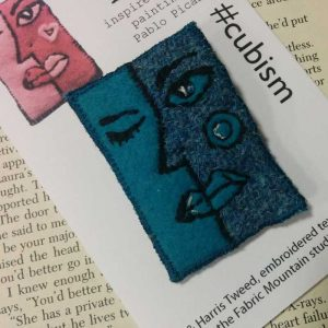 face cubism harris tweed