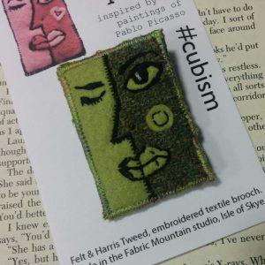 face cubism harris tweed
