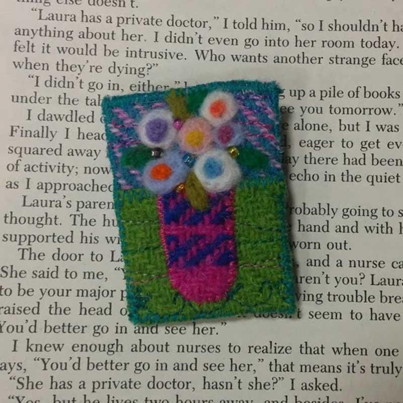 flower harris tweed