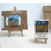 Old Masters inspired miniature art