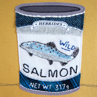 Tin of Hebrides Salmon