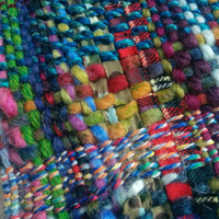 Experimental mixed weaving yarns