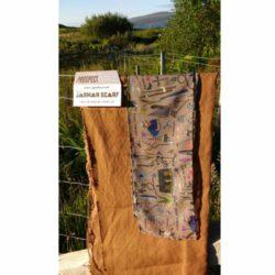 Derek Jarman scarf